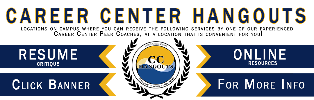 Career Center Hangouts