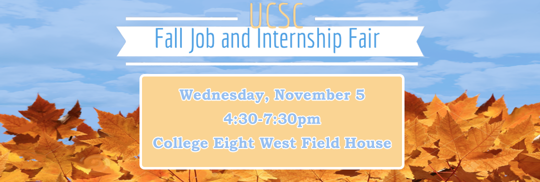 Fall Job and Internship Fair
